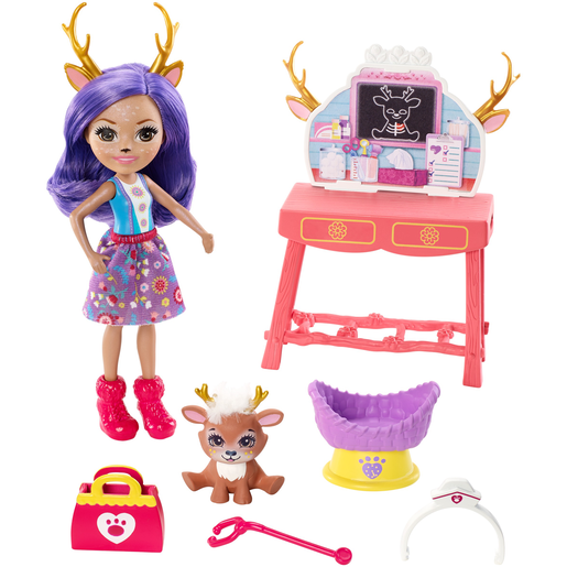 Enchantimals Caring Vet Playset With Danessa Deer Doll