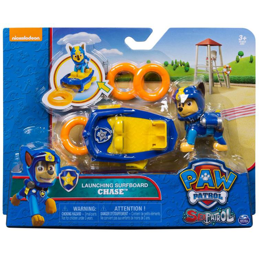Paw Patrol Sea Patrol Launching Surfboard - Chase