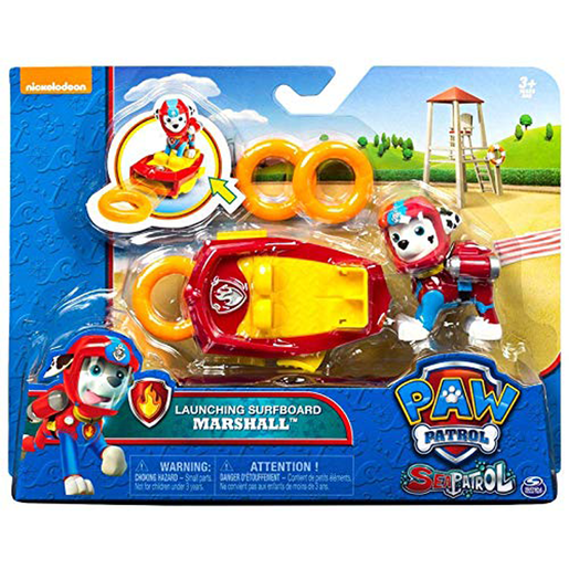 Paw Patrol Sea Patrol Launching Surfboard - Marshall