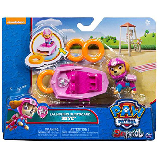 Paw Patrol Sea Patrol Launching Surfboard - Skye