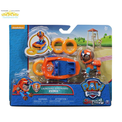 Paw Patrol Sea Patrol Launching Surfboard - Zuma