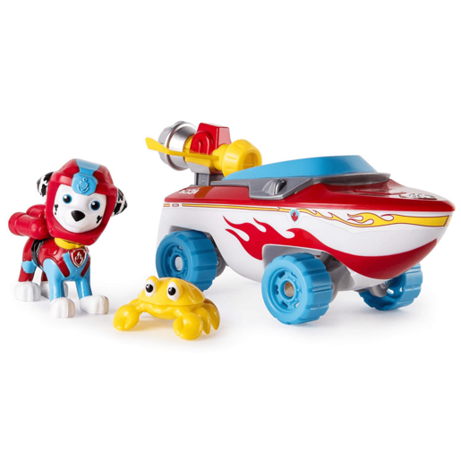 Paw Patrol Sea Patrol - Marshall's Transforming Sea Patrol Vehicle with Crab Sea Friend