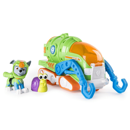 Paw Patrol Sea Patrol - Rocky's Transforming Vehicle and Snail Sea Friend