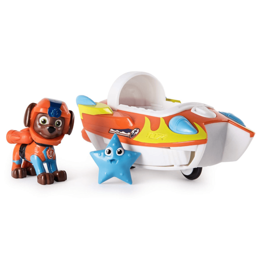Paw Patrol Sea Patrol - Zuma's Transforming Vehicle and Star Sea Friend