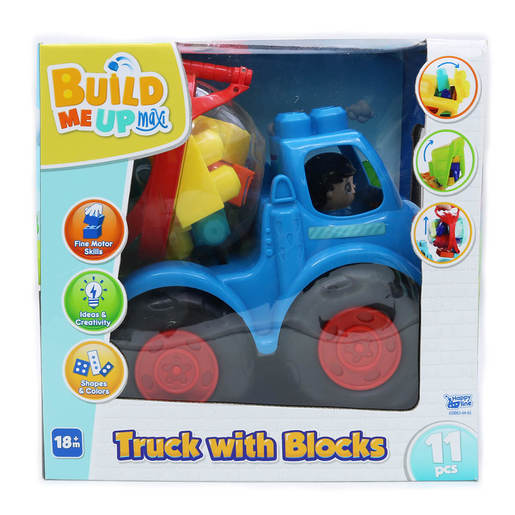 Build Me Up Large Truck with 11 Blocks