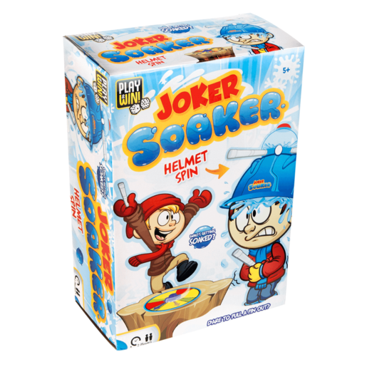 Play & Win Joker Soaker Helmet Spin Game