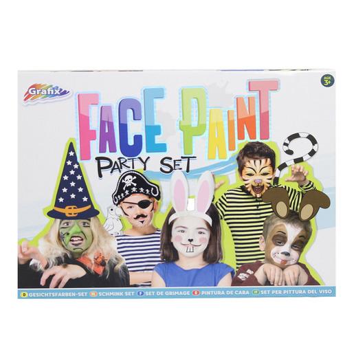 Grafix Face Paint Party Set