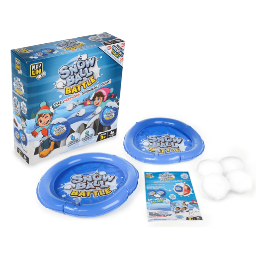 Play & Win Snow Ball Battle Game