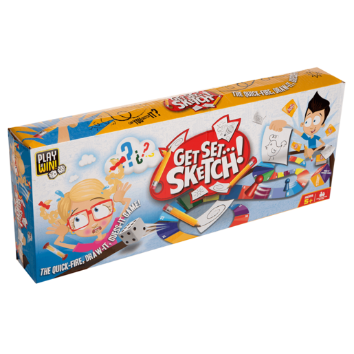 Play & Win Get Set Sketch! Game