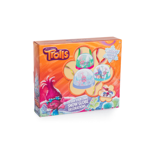 Trolls Snow Globe Decoration Kit