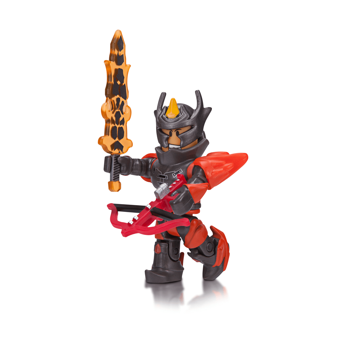 Roblox Fire Sword Id Roblox Flame Guard General Figure Pack The Entertainer