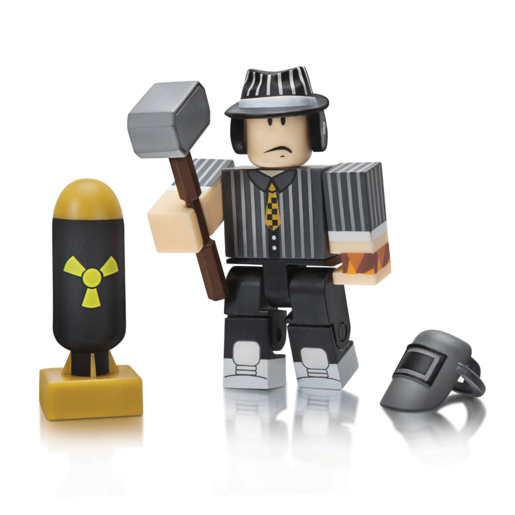 Roblox Car Crusher: Panwellz Figure Pack