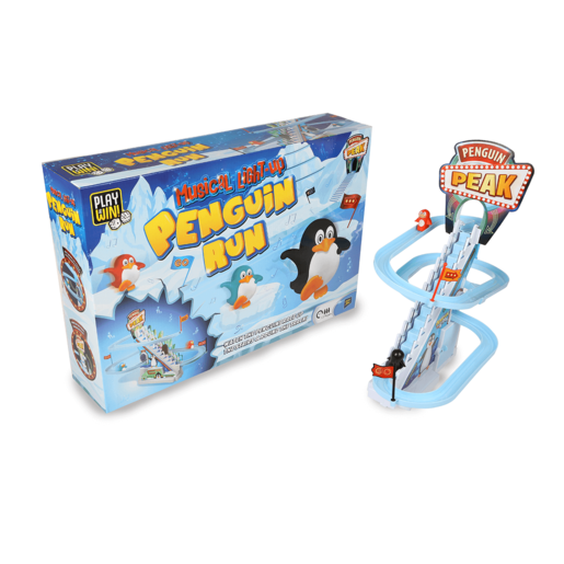 Play & Win Magical Light Up Penguin Run Game