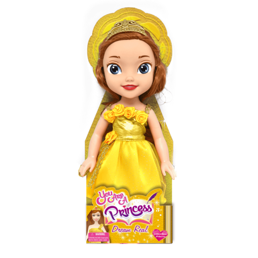 You are a Princess 30cm Doll - Golden Rose