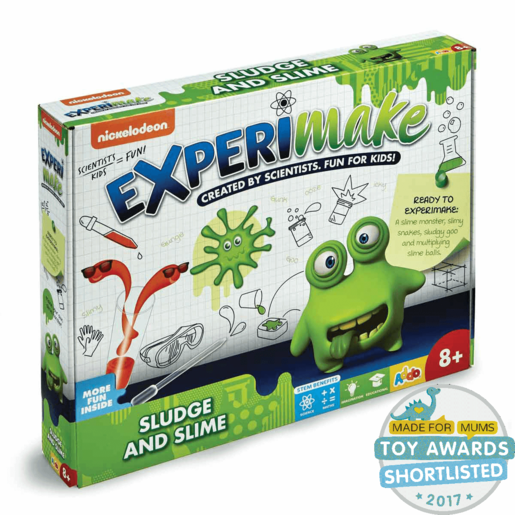 Nickelodeon Experimake Sludge and Slime