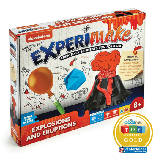 Nickelodeon Experimake Explosions and Eruptions from TheToyShop