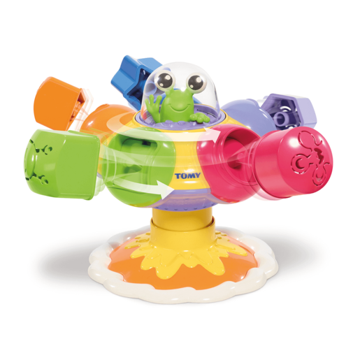 Tomy Toomies Sort & Pop Spinning UFO