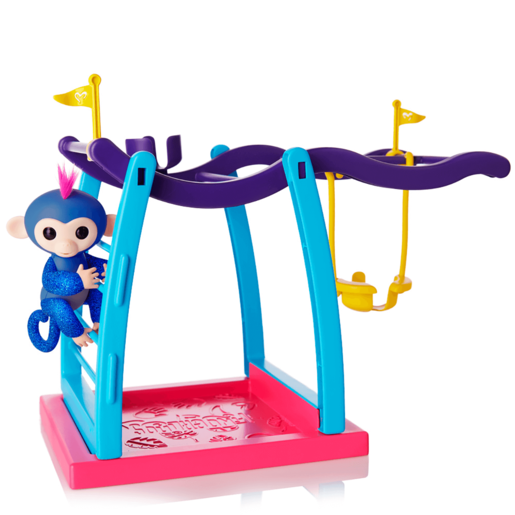 Fingerlings Monkey Bar Playset with Glitter Fingerling