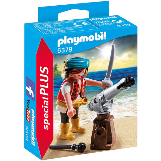 Playmobil 5378 Special Plus Pirate And Cannon