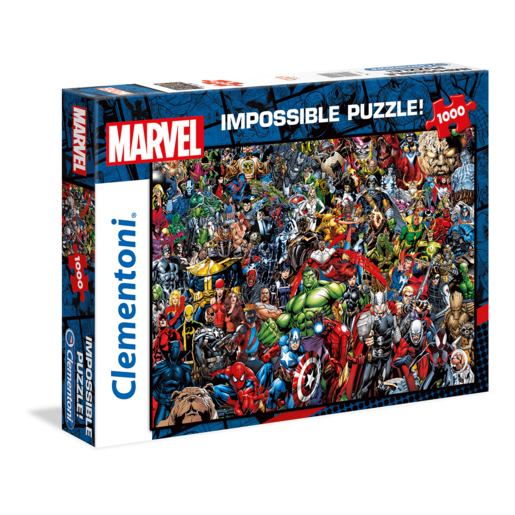 Clementoni - Avengers Impossible 1000pc Puzzle