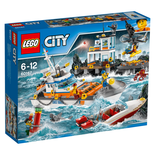 LEGO City Coast Guard Head Quarters 60167