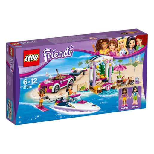 LEGO Friends Andreas Speedboat Transporter - 41316