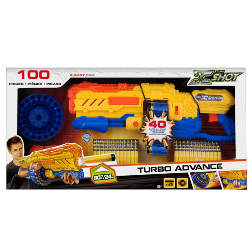 X-Shot Turbo Advance Blaster