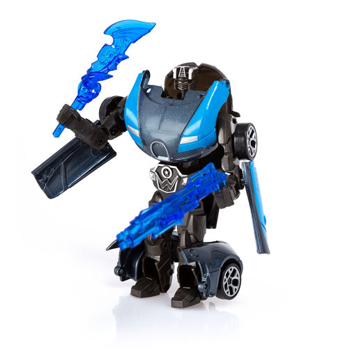 Roborg Transforming Metamorphosis Tech Ride - Vulcanaught (Blue and Black)