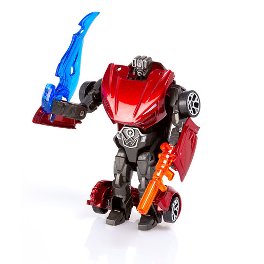 Roborg Transforming Metamorphosis Tech Ride - Diablo (Red)