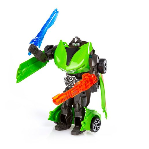 Roborg Transforming Metamorphosis Tech Ride - Ty (Green)