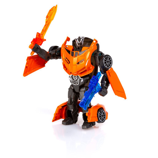 Roborg Transforming Metamorphosis Tech Ride - Velobot (Orange)