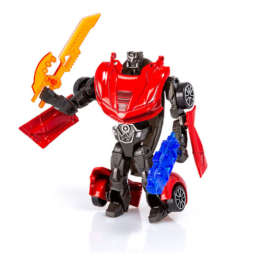 Roborg Transforming Metamorphosis Tech Ride - Razor (Red)