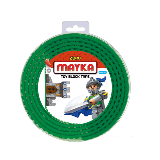 Mayka Tape - 2 Stud Dark Green 2 Metres