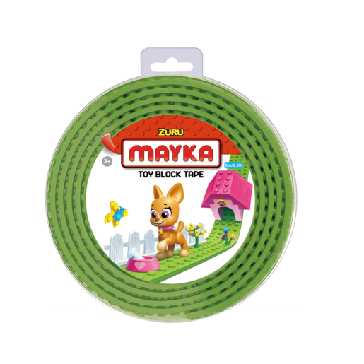 Mayka Tape - 2 Stud Light Green 2 Metres