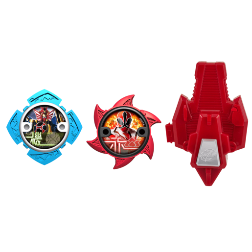 Power Ranger Ninja Steel 2 x Stars and Launcher - 43490