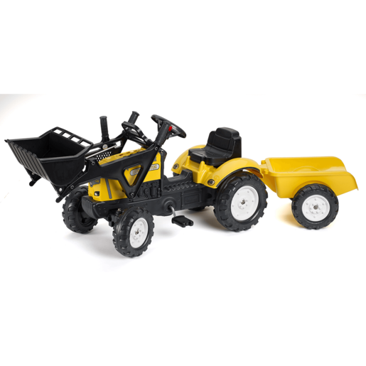 Falk Constructor with Opening Bonnet, Loader and Trailer