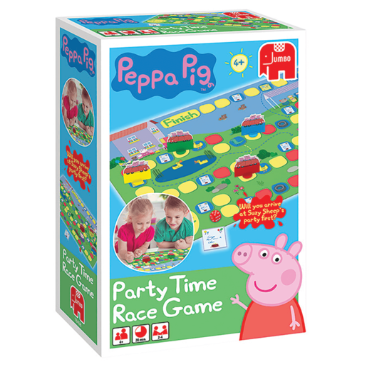 Peppa Pig Party Time Race Game