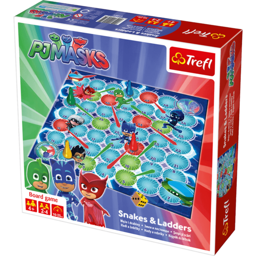 PJ Masks Snakes and Ladders Game