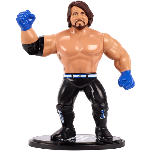 WWE AJ Styles Retro Action Figure