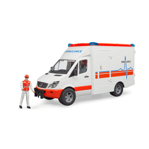 Bruder MB Sprinter Ambulance with driver