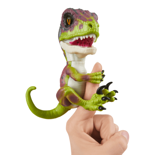 Untamed Raptor Dino by Fingerlings - Stealth