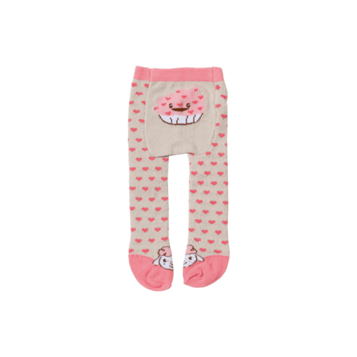 Baby Annabell Tights - Hearts