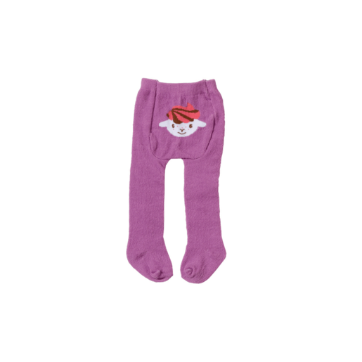 Baby Annabell Tights - Purple
