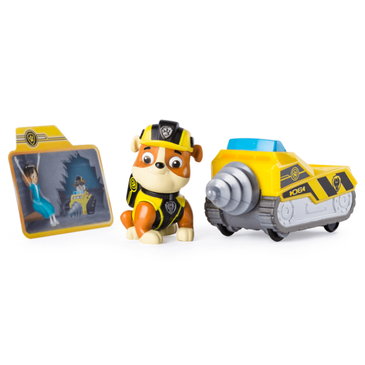 Paw Patrol Mission Paw Vehicle - Rubble Mini Miner