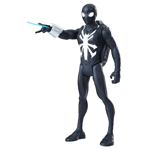 Marvel Spiderman 13cm Figure - Black Suit Spider- man