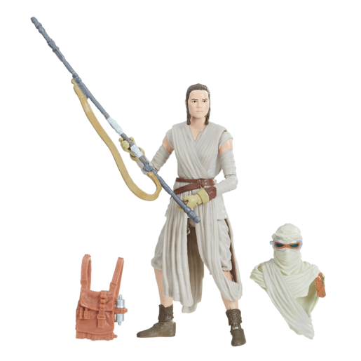 Star Wars The Force Awakens 9cm Figure - Rey (Jakku)
