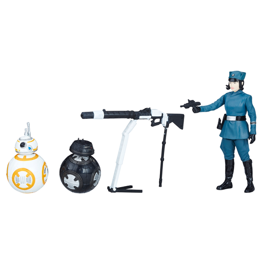 Star Wars Force Link 2.0 10cm Figures - Rose, BB-8 and BB-9