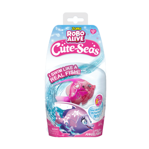 Robo Alive Cute-Seas - Pink Fish