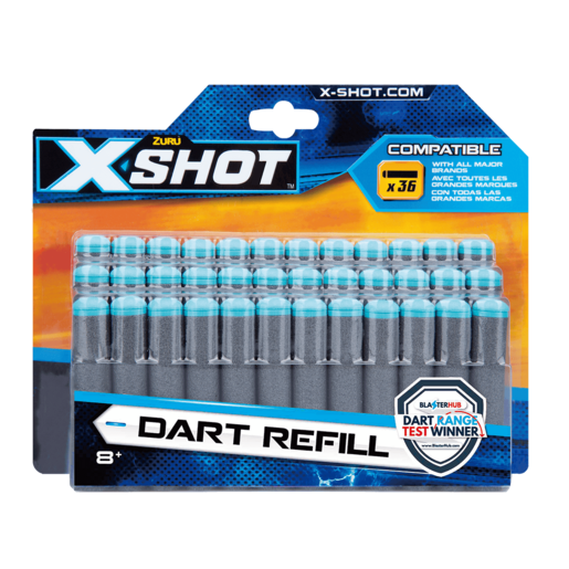X-Shot Dart Refill - 36 Pack By ZURU