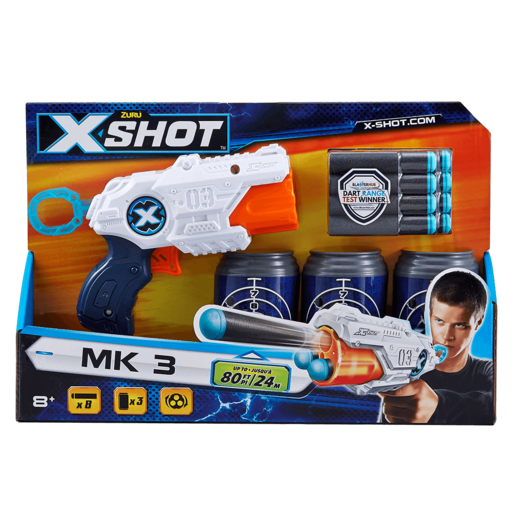 X-Shot Micro Blaster with Cans